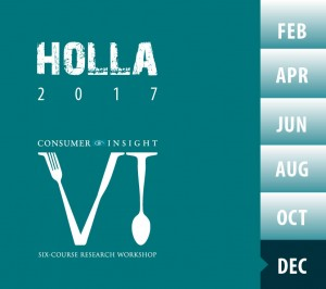 Six Course Holla December 2017 Research Workshop